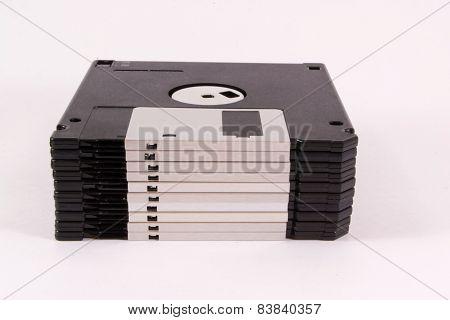 Floppy Discs.