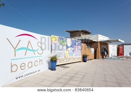 Yas Beach In Abu Dhabi