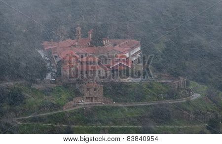 Famous Orthodox Monastery Of Machairas In Cyprus