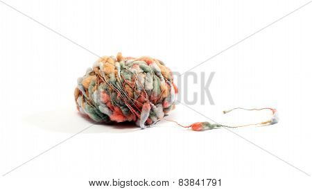 Ball Of Speciality Colorful Wool