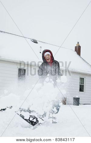 Fun Snow Shoveling
