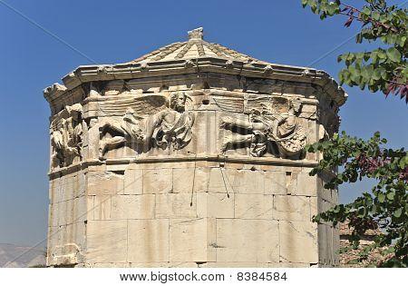 Tower of the wind-Gods at Athens Roman Agora, Greece
