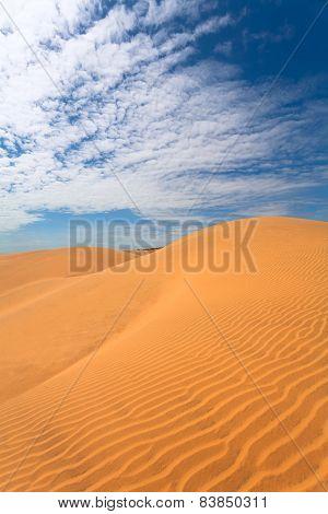 Hills, Dunes, Sky