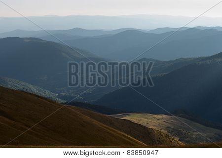 Morning on mountain top