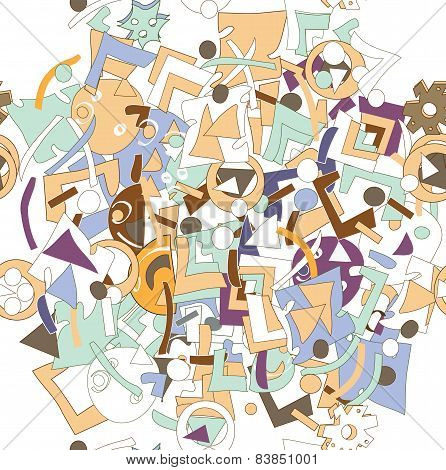 Mess Pattern