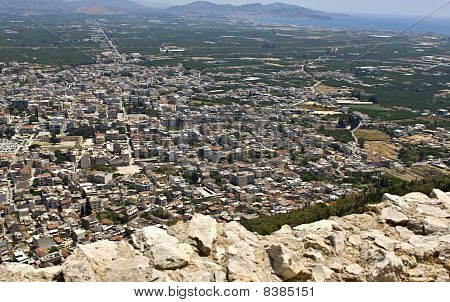 Argos city of Greece (view from the Larissa castle)