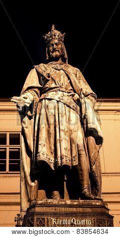 Prague Charles Monument 02