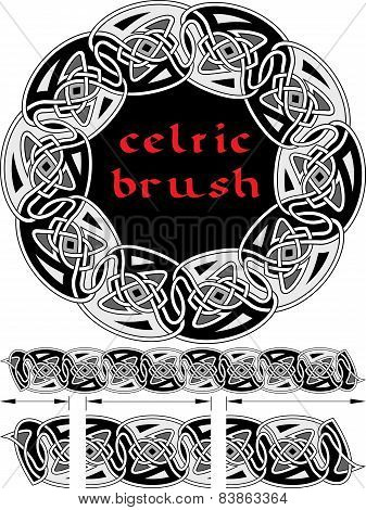 Celtic Brush For  Frame