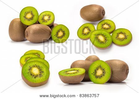 composite from kiwi fruit