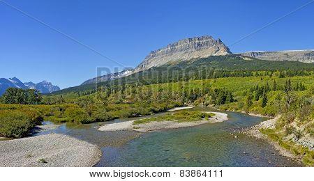 Saint Mary River, Glacier National Park