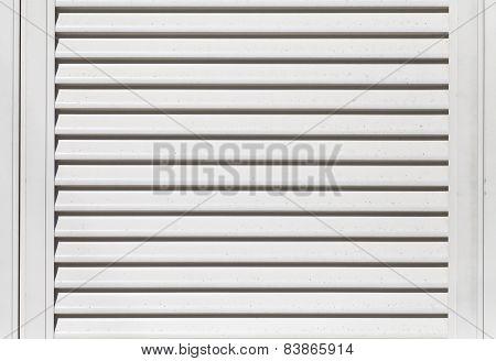White galvanize steel