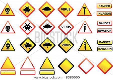 Alien signs