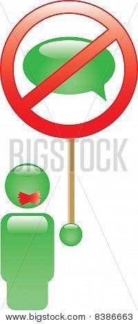 Ban sign