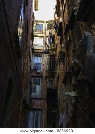 Alley, Naples