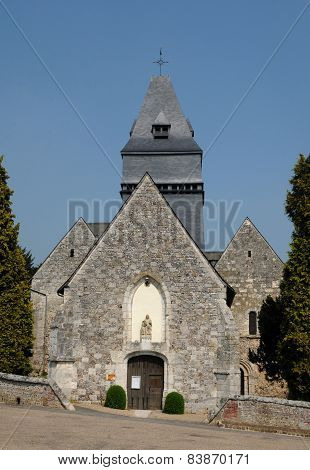 France, The Church Of Lyons La Foret In L Eure