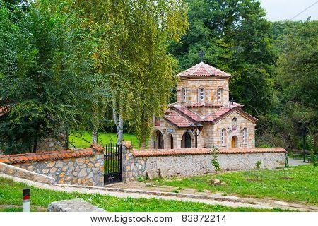 Church At Saint Naum Monastery In Macedonia