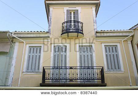 House at Lefkada island, Greece