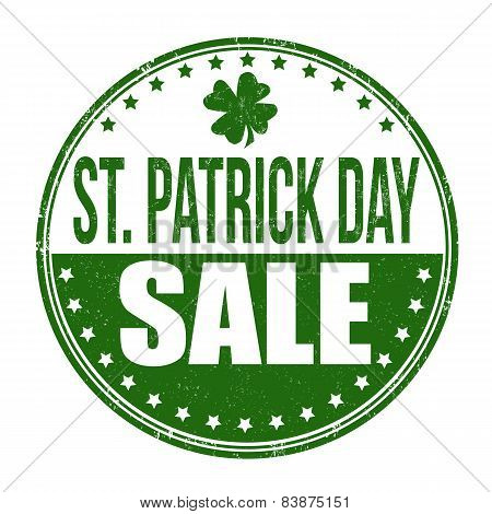 St. Patrick's Day Sale Stamp