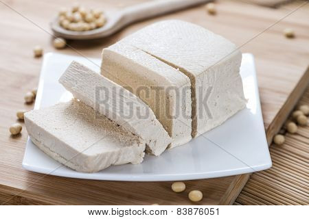 Portion Of Tofu