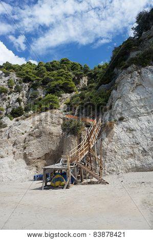 Stairs to the Beach Egremni