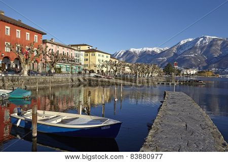 Ascona (switzerland) - Bay Of Ascona
