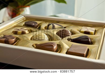 Box Of Tasty Chocolates - A Gift For Her