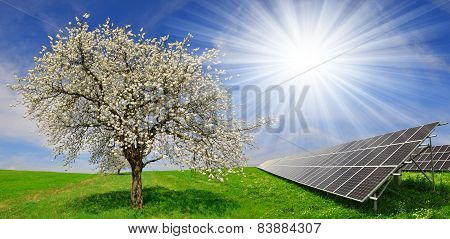 Solar energy panels