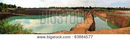 quarry pond Mini Grand Canyon near Chiang Mai