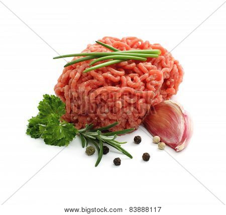 Minced Meat Ball With Herbs