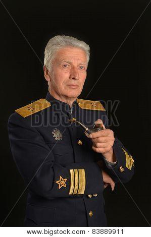Military mature general