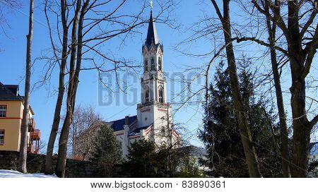 Church in Erzgebirge