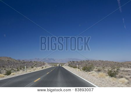 The Street To Death Valley
