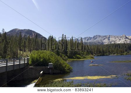 Landscape Of Mammoth Lakes, California