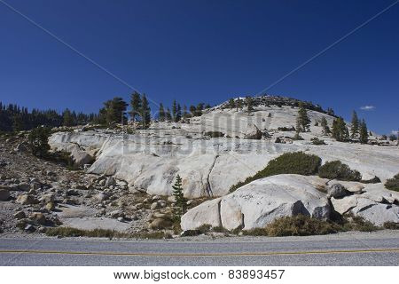 Scenic View Of Yosemite National Park