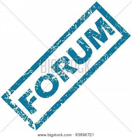 Forum rubber stamp
