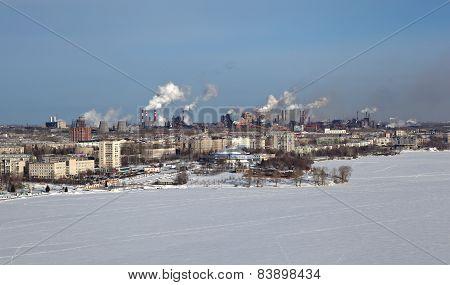 Panorama of Nizhny Tagil. Sverdlovsk region. Russia.