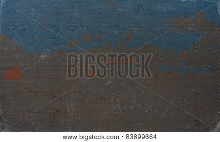 color old grunge background with deep pattern