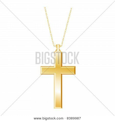 Gold Cross, Chain