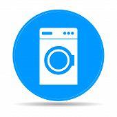 picture of washing machine  - washing machine icon - JPG