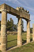 pic of artemis  - Temple of Artemis of Vravrona at Attica - JPG