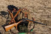 picture of shotgun  - hunting equipment - JPG