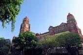 image of yangon  - Old British colonial palace building in Yangon - JPG