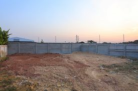 foto of land development  - empty land for sale or construction building - JPG
