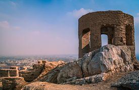 image of zoroastrianism  - Ruins of the Zoroastrian Fire Temple  - JPG