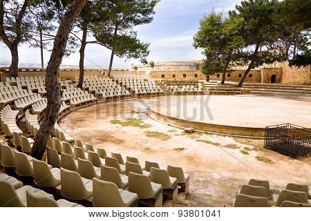 Theater, Fortress, Rethymno, Crete