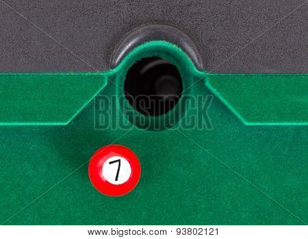 Red Snooker Ball - Number 7