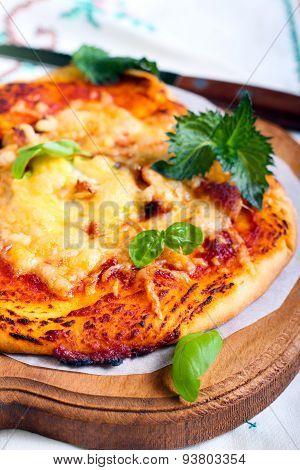 Tomato And Cheese Pita