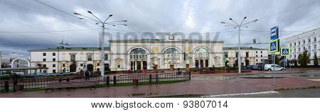The Train Station In Vitebsk, Belarus