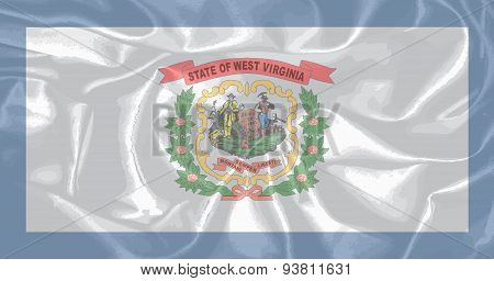 West Virginis State Silk Flag