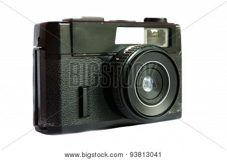 An Elegant Retro Range Finder Camera